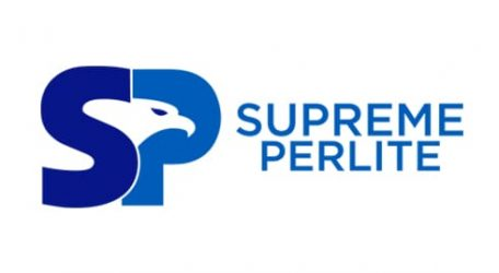 Supreme Perlite Logo in Blue
